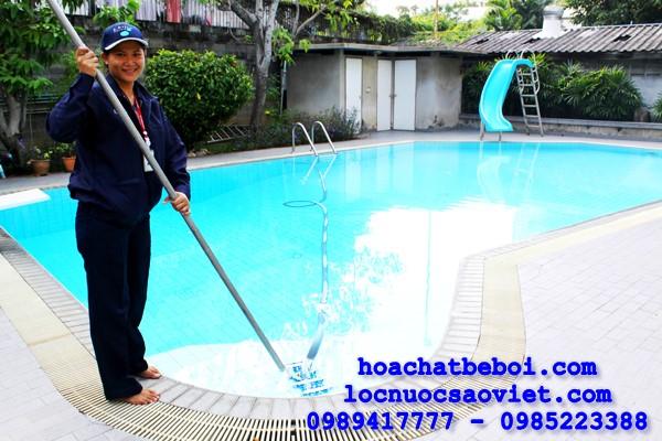 hướng dẫn vận hành bể bơi