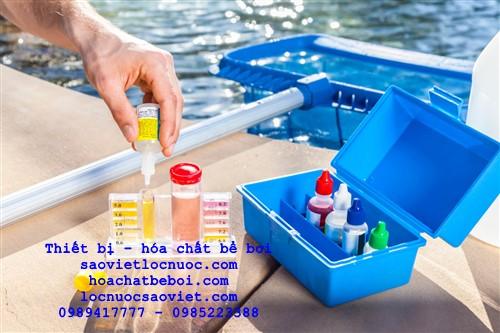 hướng dẫn sử dụng bộ test nước bể bơi