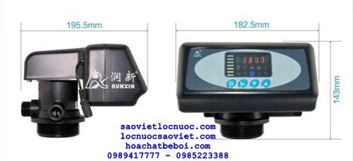 an tự động điều khiển autovalve lọc nước theo thời gian F71B1