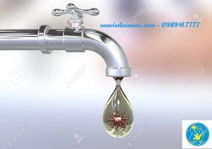 Phương pháp xử lý nước uống nhiễm virut