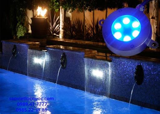 Tư vấn cách lắp đặt đèn bể bơi cho hình dạng bể bơi khác nhau