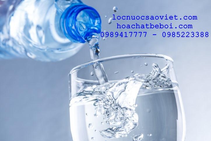 khử trùng nước uống bằng clo