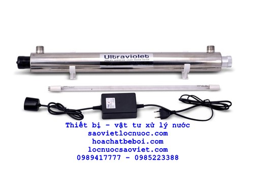 đèn uv 29w 8 GPM cs 1,8m3h