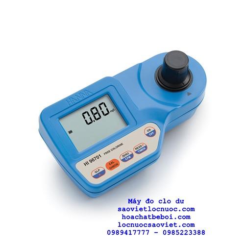 Máy đo clo dư HI96701