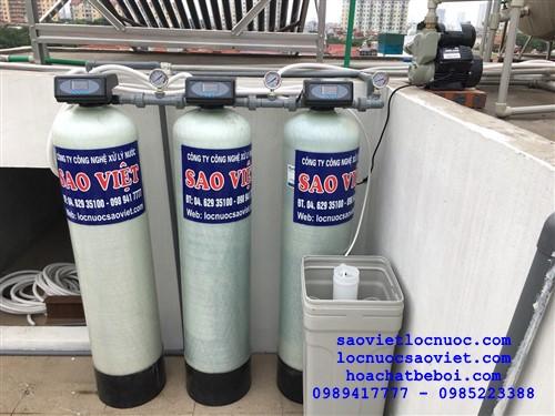 Bộ lọc tổng lọc lại nước máy vận hành tự động