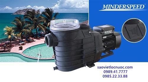 Máy bơm bể bơi Minder MXB300 3HP cs 30m3/h