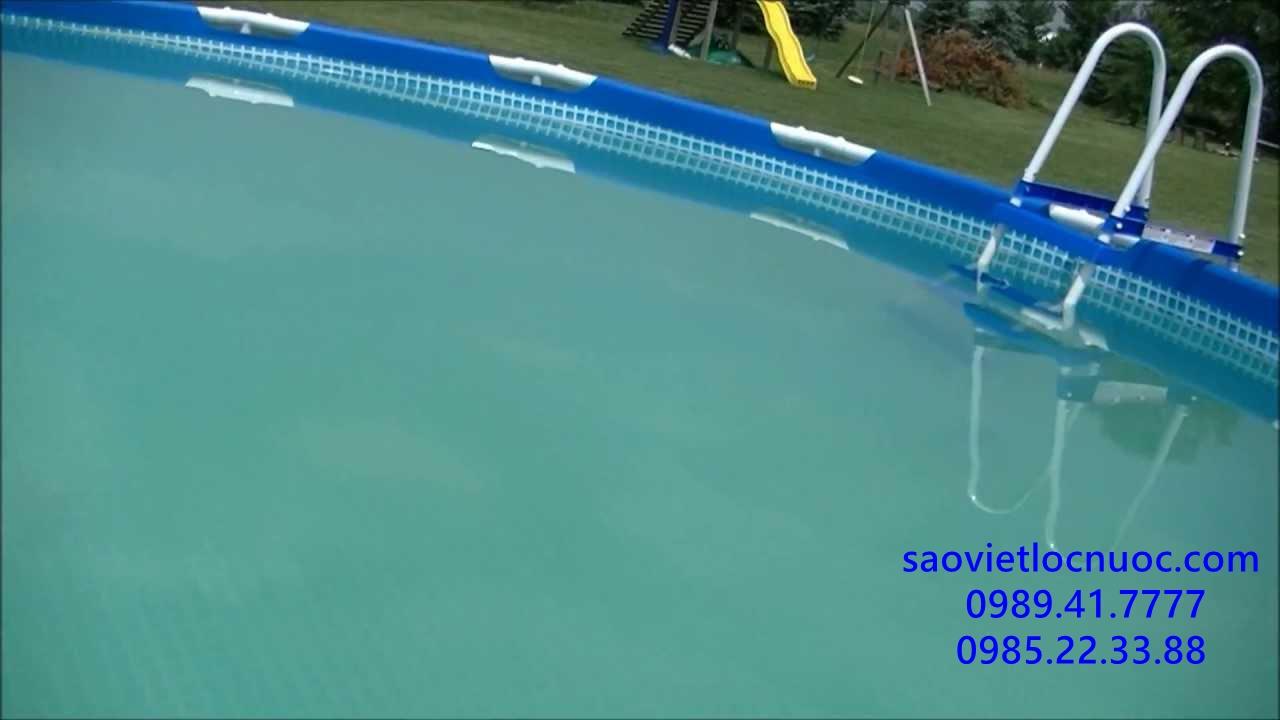 Bể bơi bị vẩn đục thì xử lý thế nào