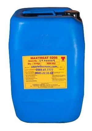 Hóa chất tẩy rửa màng RO 9206 loại bỏ hợp chất hữu cơ chất nhờn trong màng